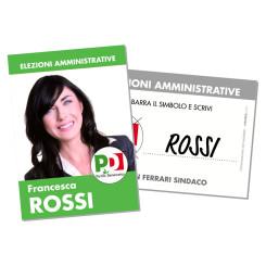 Santino Elettorale – Modello 1 – Partito Democratico