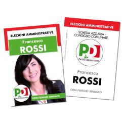 Santino Elettorale – Modello 3 – Partito Democratico