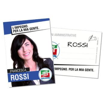 Santino Elettorale – Modello 4 – Forza Italia
