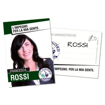 Santino Elettorale – Modello 4 – Lega Nord