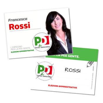 Santino Elettorale – Modello 5 – Partito Democratico