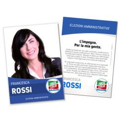 Volantino Elettorale – Modello 6 – Forza Italia