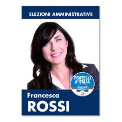 Manifesto Elettorale – Modello 1 – Fratelli d'Italia
