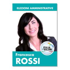Manifesto Elettorale – Modello 1 – Italia dei Valori