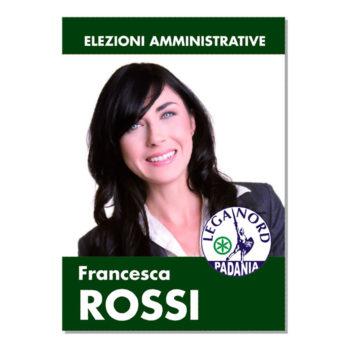 Manifesto Elettorale – Modello 1 – Lega Nord