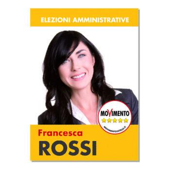 Manifesto Elettorale – Modello 1 – Movimento 5 Stelle
