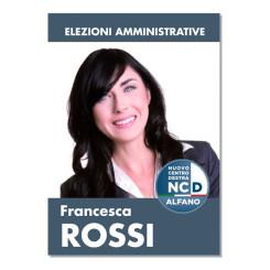 Manifesto Elettorale – Modello 1 – Nuovo Centro Destra