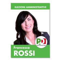 Manifesto Elettorale – Modello 1 – Partito Democratico