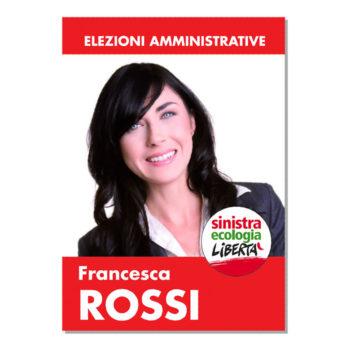 Manifesto Elettorale – Modello 1 – Sinistra Ecologia e Libertà
