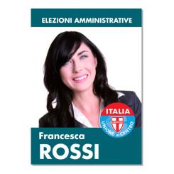 Manifesto Elettorale – Modello 1 – Unione di Centro
