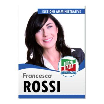 Manifesto Elettorale – Modello 2 – Forza Italia