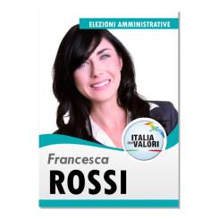 Manifesto Elettorale – Modello 2 – Italia dei Valori