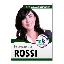 Manifesto Elettorale – Modello 2 – Lega Nord