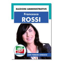 Manifesto Elettorale – Modello 3 – Forza Italia