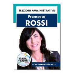 Manifesto Elettorale – Modello 3 – Italia dei Valori