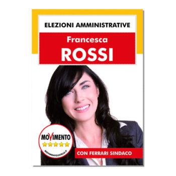 Manifesto Elettorale – Modello 3 – Movimento 5 Stelle