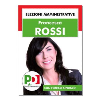 Manifesto Elettorale – Modello 3 – Partito Democratico