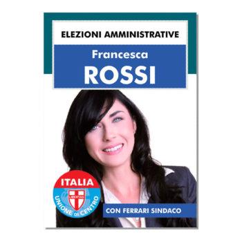 Manifesto Elettorale – Modello 3 – Unione di Centro