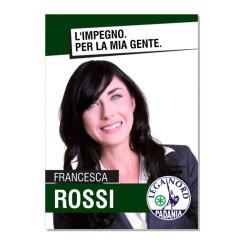 Manifesto Elettorale – Modello 4 – Lega Nord