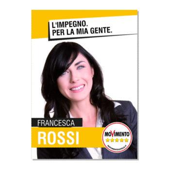 Manifesto Elettorale – Modello 4 – Movimento 5 Stelle