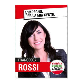 Manifesto Elettorale – Modello 4 – Sinistra Ecologia e Libertà