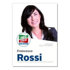 Manifesto Elettorale – Modello 5 – Forza Italia