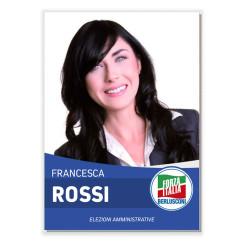 Manifesto Elettorale – Modello 6 – Forza Italia