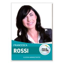 Manifesto Elettorale – Modello 6 – Italia dei Valori