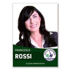 Manifesto Elettorale – Modello 6 – Lega Nord