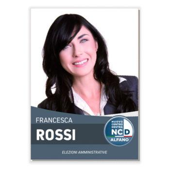Manifesto Elettorale – Modello 6 – Nuovo Centro Destra
