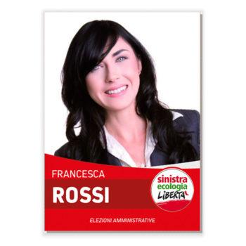 Manifesto Elettorale – Modello 6 – Sinistra Ecologia e Libertà