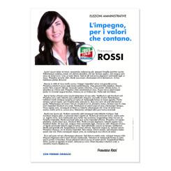 Lettera agli Elettori – Modello 1 – Forza Italia