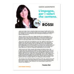 Lettera agli Elettori – Modello 1 – Italia dei Valori