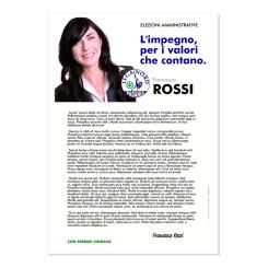 Lettera agli Elettori – Modello 1 – Lega Nord