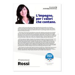 Lettera agli Elettori – Modello 2 – Fratelli d'Italia