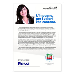 Lettera agli Elettori – Modello 2 – Forza Italia
